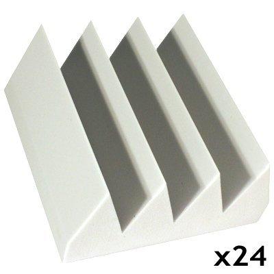 Fire Rated Studio Foam Kit Bass Wedge White