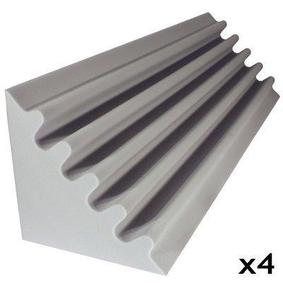 Fire Rated Studio Foam Kit Corner Trap Gray