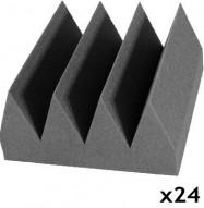 studio foam bass wedge charcoal 24