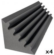 studio foam kit corner trap charcoal 4
