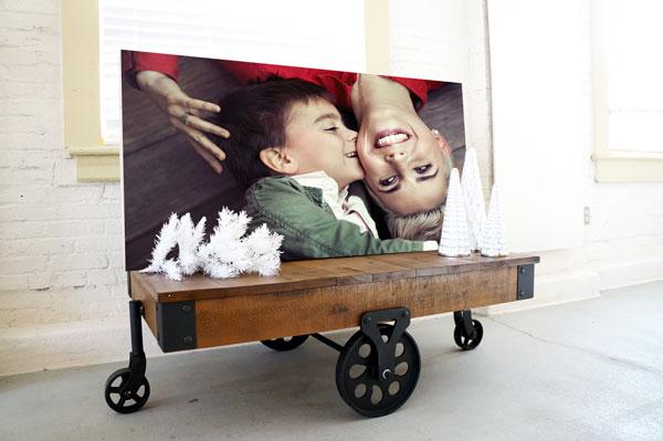 art acoustic panel family photo