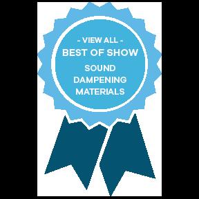 sound dampening materials ribbon