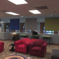 Statesboro Regional Libraries - Hanging Baffles
