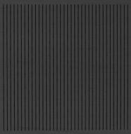 Eccotone Acoustic Wood Panel - Linear 133 Ebony Finish