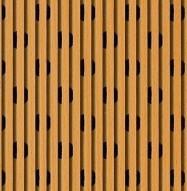 Eccotone Acoustic Wood Panel - Linear 53 Detail