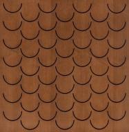Eccotone Acoustic Wood Panel - Pesce Dark Natural Finish