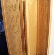 Acoustic Wood Partition - 3 Panels