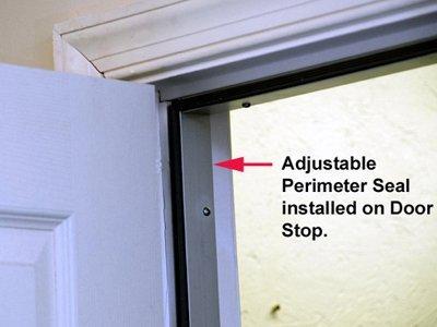 Captivating Door Soundproofing Adjustable Seal; Door Soundproofing Adjustable Perimeter  Seal Install