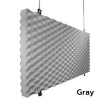 Fire Rated Studio Foam Baffle Gray
