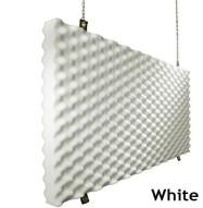 Fire Rated Studio Foam Baffle White