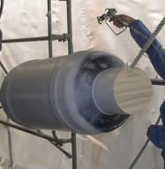 Sound Deadening Spray Application