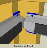Isotrax Soundproofing Inside Corner