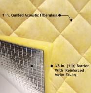 Quiet Barrier Fiberglass Composite Detail