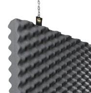 Baffle Studio Foam Detail