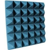 4 inch Aqua Pyramid Studio Foam