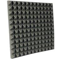 2 inch Charcoal Pyramid Studio Foam