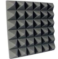 4 inch Charcoal Pyramid Studio Foam
