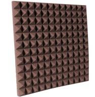 2 inch Chocolate Pyramid Studio Foam