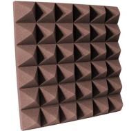 4 inch Chocolate Pyramid Studio Foam