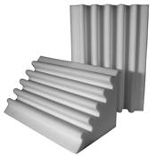 fire rated studio foam corner trap gray