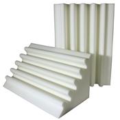 fire rated studio foam corner trap white
