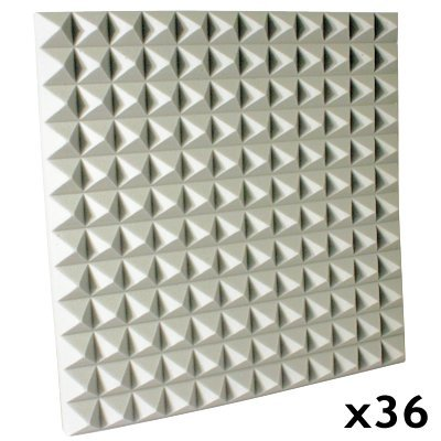 Fire Rated Studio Foam Kit Pyramid White