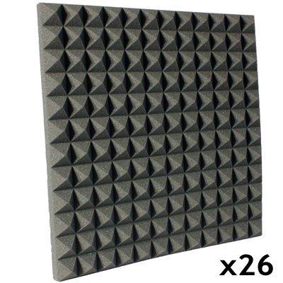 Studio Foam Kit Pyramid Charcoal