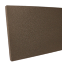 brown acoustic foam panel