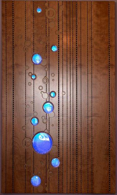 Acoustic Wood Panel Bubble