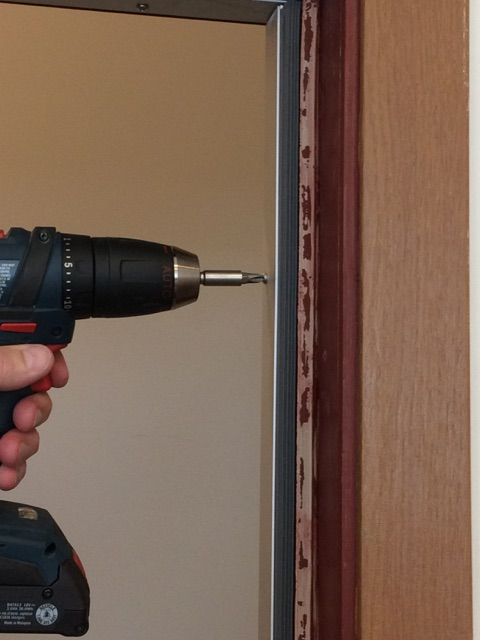 Drilling Quiet Door Perimeter Seal