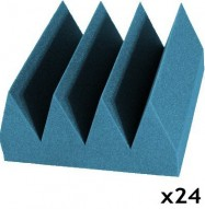 studio foam kit bass wedge aqua 24