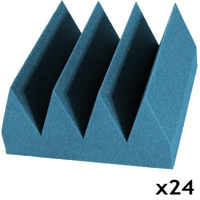 acoustic foam bass wedge aqua 24