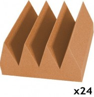 acoustic foam kit bass wedge pumpkin 24