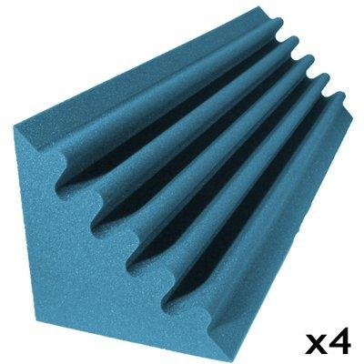 acoustic foam kit corner trap aqua 4