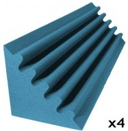 studio foam kit corner trap aqua 4