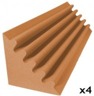 acoustic foam kit corner trap pumpkin 4