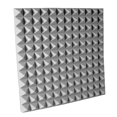 Udderly Quiet™ Class A™ Pyramid Acoustic Foam 2