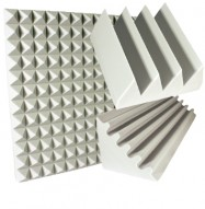 white soundproofing kit