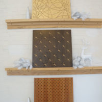 perforated wood panels - variety