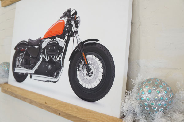art panel motorcycle