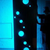 Backlit Bubble Design