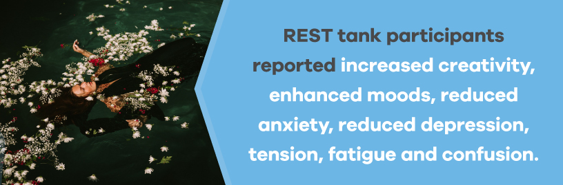 benefits of sensory deprivation therapy