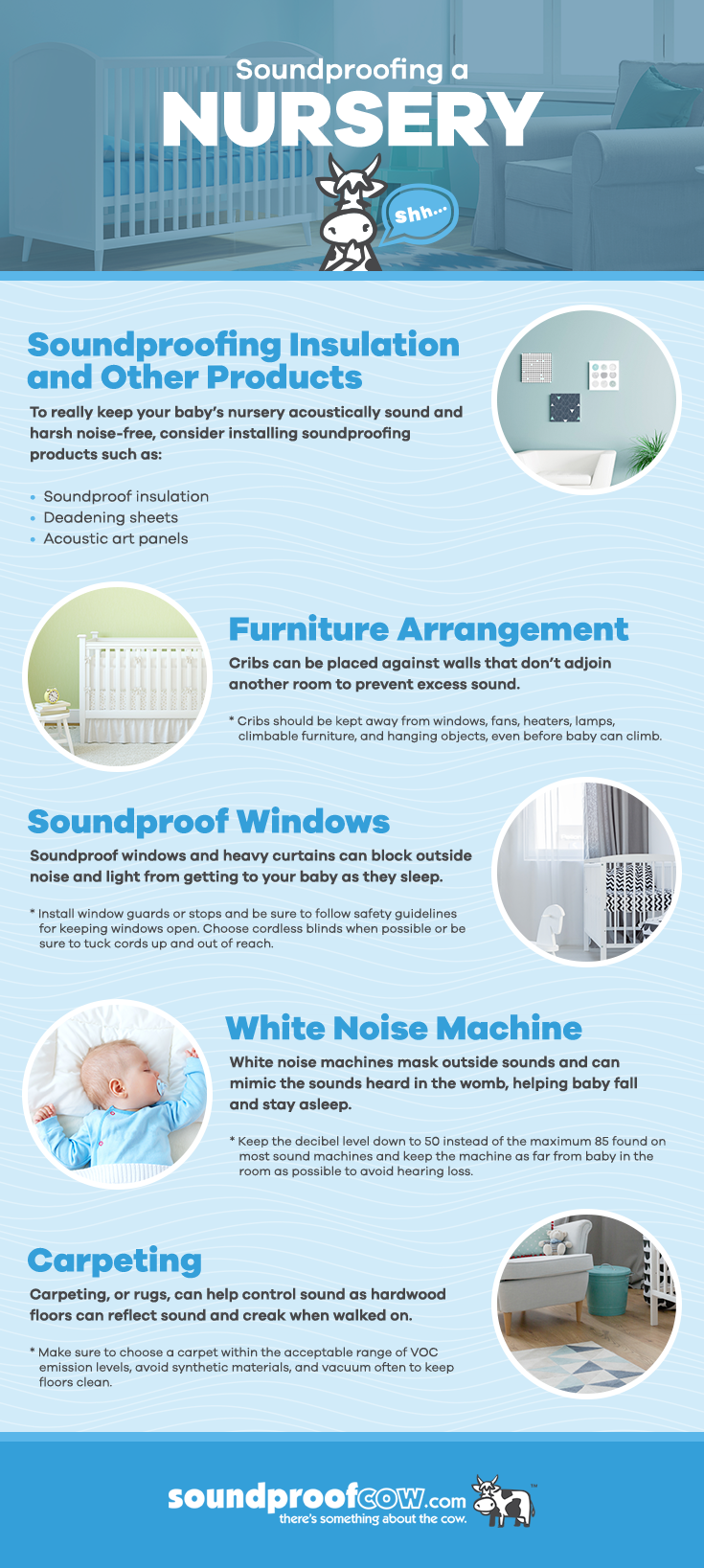 how to soundproof a nursery