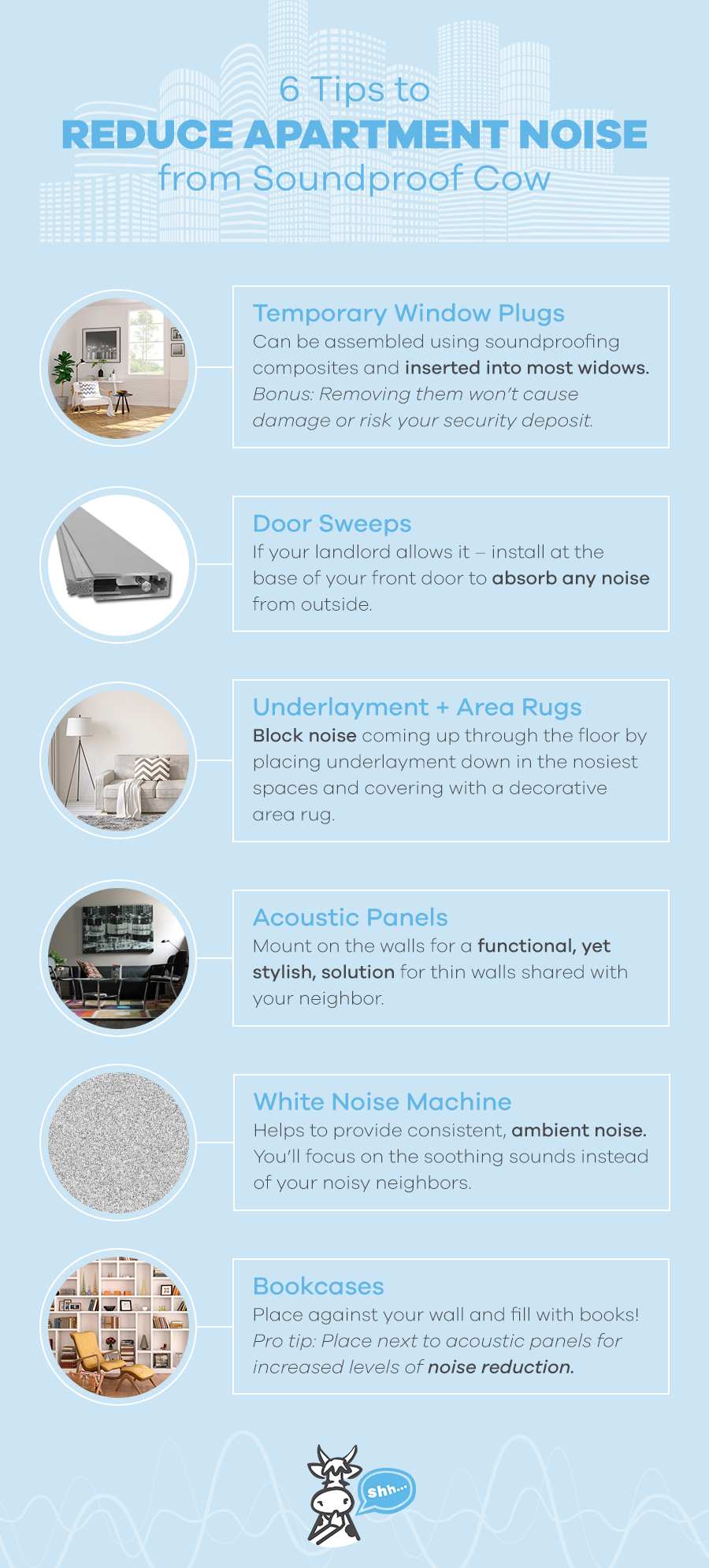 How to Soundproof An Apartment | Apartment Soundproofing