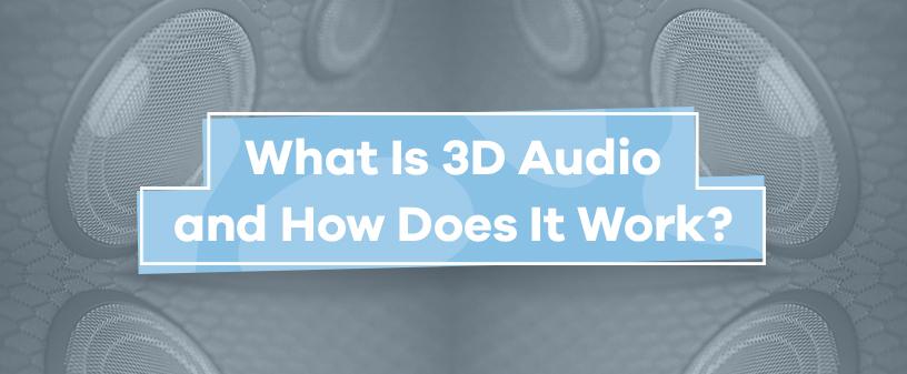 3D sound audio