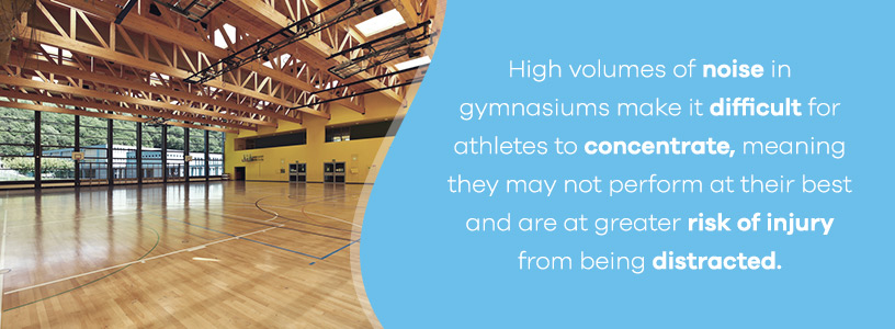 gymnasium acoustic panels