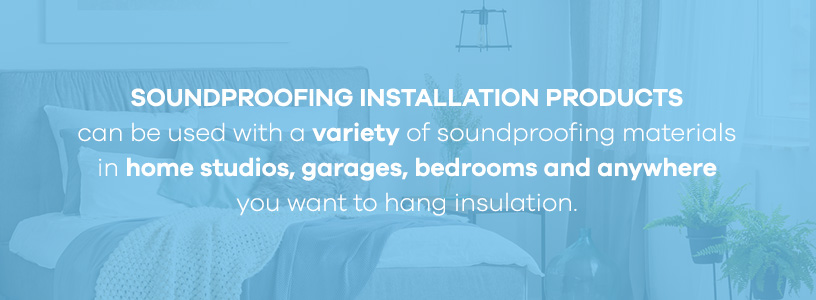 soundproofing installation products