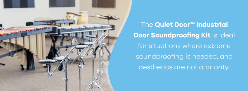Quiet Door Industrial Door Soundproofing Kit