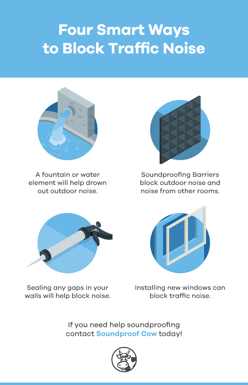 4 Smart Ways to Block Traffic Noise