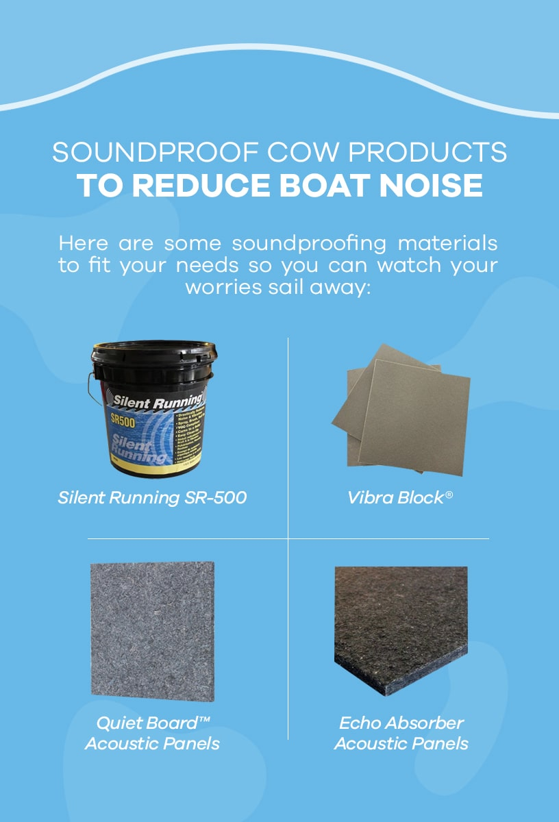 Soundproof Cow's Boat Soundproofing Products